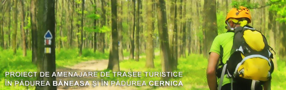 Amenajarea de trasee turistice <br />în pădurile de lângă Bucureşti