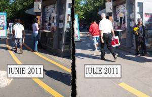 comparatie Trotuar Iancului Semafoare Biciclete